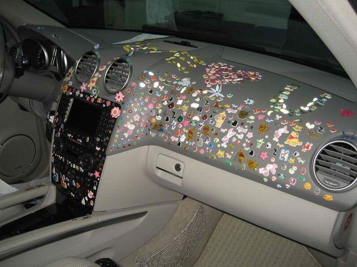 Украшение автомобиля (5 фото)
