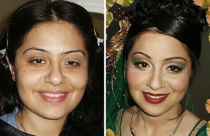 Чудеса макияжа (29 фото)