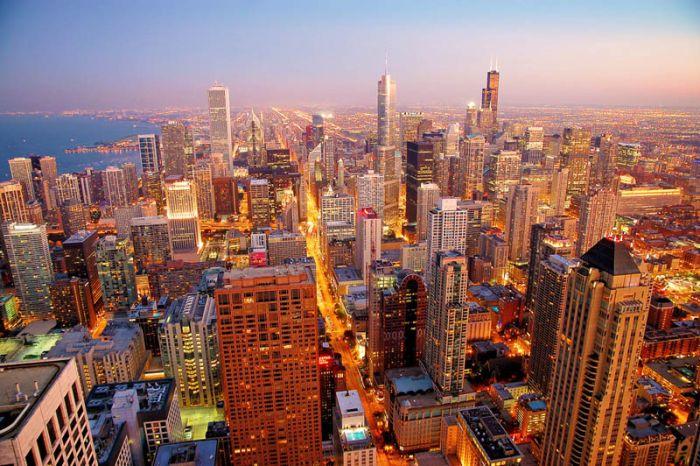 Города с самым большим количеством высотных зданий (25 фото)