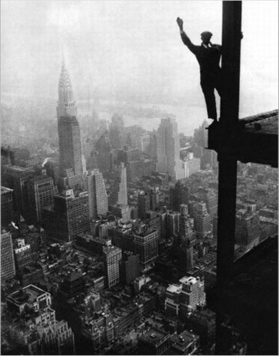 Как строился Нью-Йорк (34 фото)