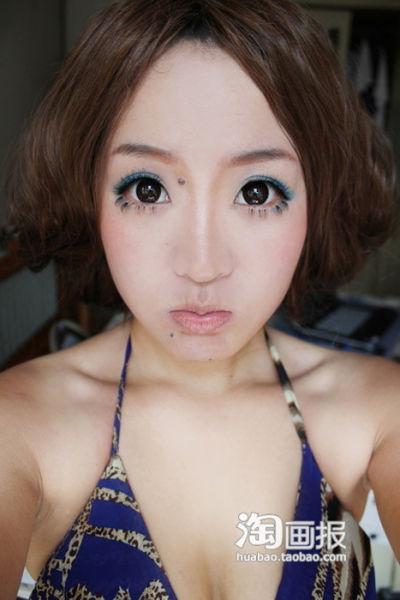 Чудеса макияжа по-китайски (31 фото)