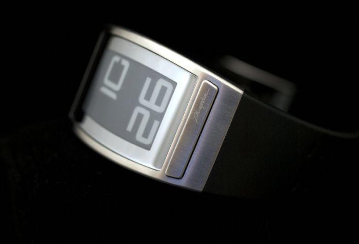 Уникальные часы на электронных чернилах и микроэлектромагнитном механизме (35 фото + 3 видео)