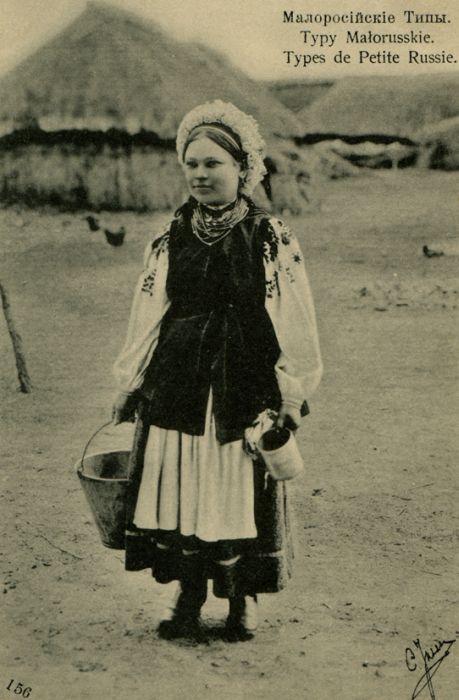 Ретро-фотографии украинских девушек (39 фото)