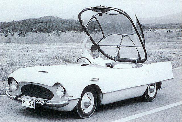 Эволюция японского автодизайна (50 фото)