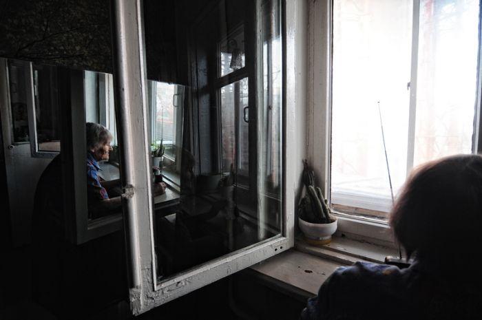 Люди, которые живут у моста (28 фото)