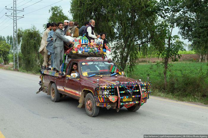 Автобусы Пакистана (40 фото)