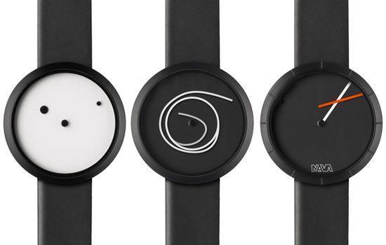 Дизайнерские часы от компании NAVA Design (Италия)