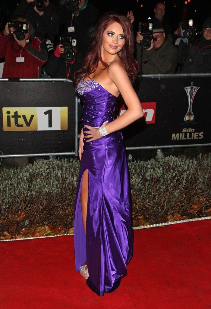 Красивое платье фиолетовое 6