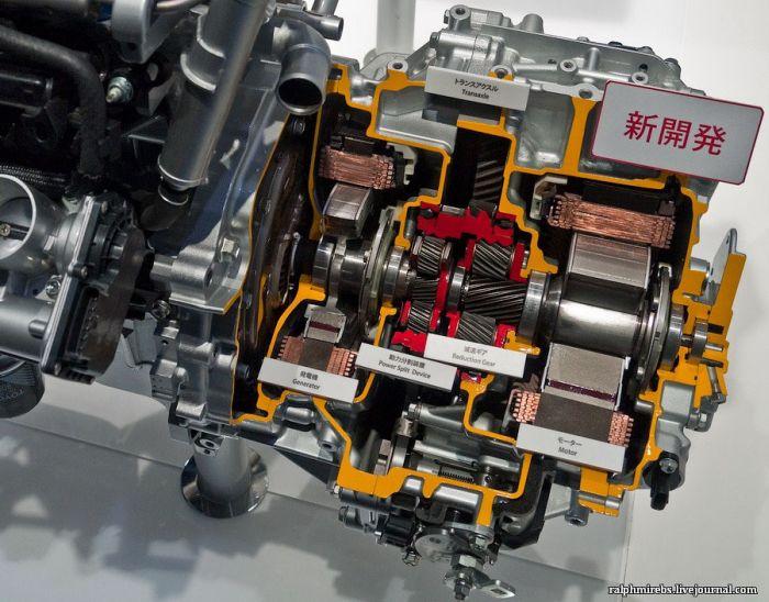 Автомобильные детали на Токийском автосалоне (36 фото)