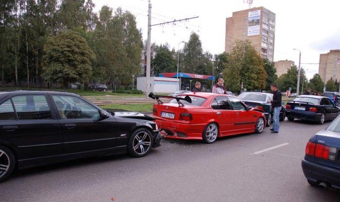 Встреча любителей BMW в Риге (5 фото)