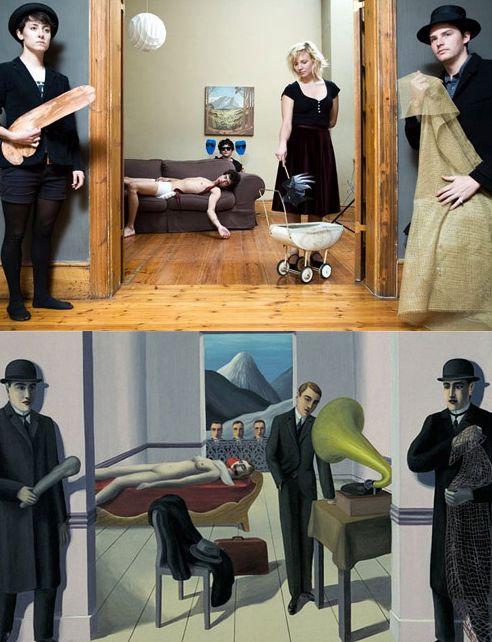 Дублированные произведения искусства (16 фото)