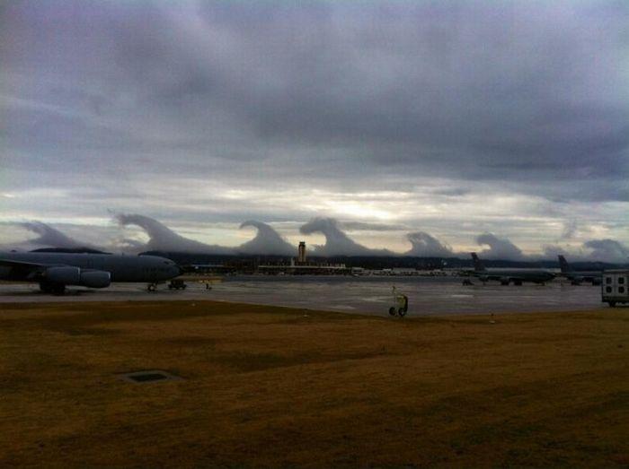 Странные облака (5 фото + видео)
