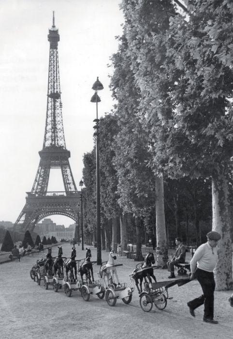 Париж середины XX века (41 фото)