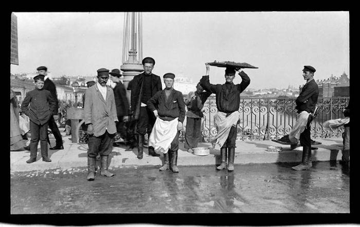 Москва в 1909 году (70 фото)
