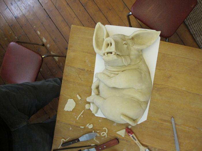 Злобная свинья (24 фото)