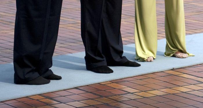 Ноги людей (30 фото)
