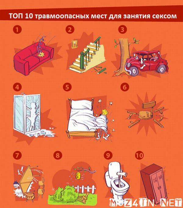 Инфографик про секс (5 картинок)