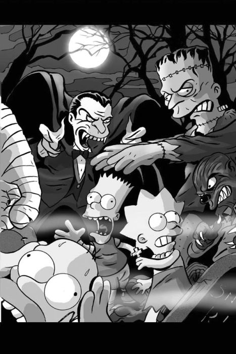 Симпсоны в кино (21 фото)
