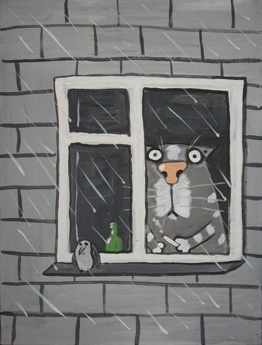 Календарь с котэ (12 картинок)