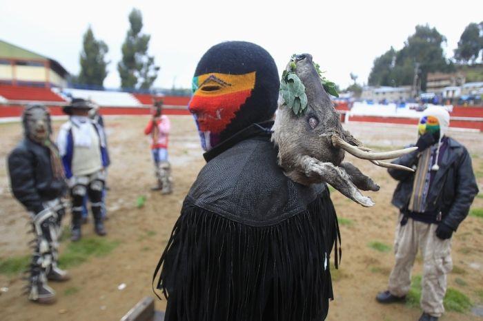 Перуанский Бойцовский клуб (19 фото)