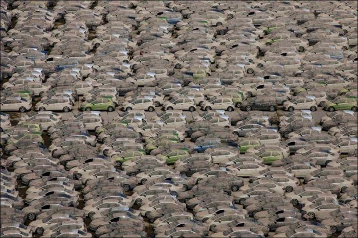 Утилизация автомобилей Honda в Таиланде (11 фото)