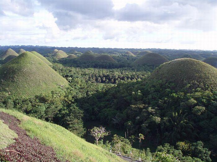 Шоколадные холмы на Филиппинах (16 фото)