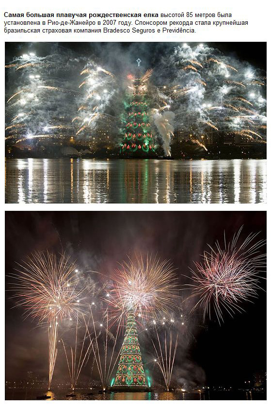 Рекорды Нового года (17 фото)
