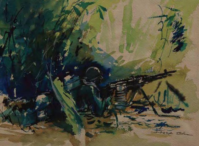 Рисунки американских солдат (114 фото)