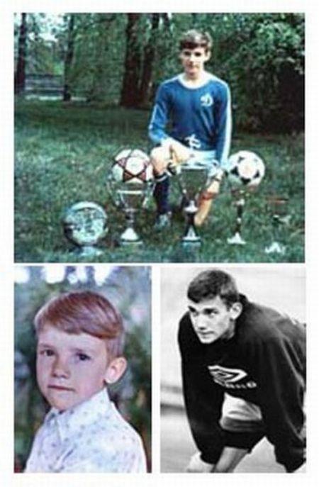 Звезды футбола тогда и сейчас (50 фото)