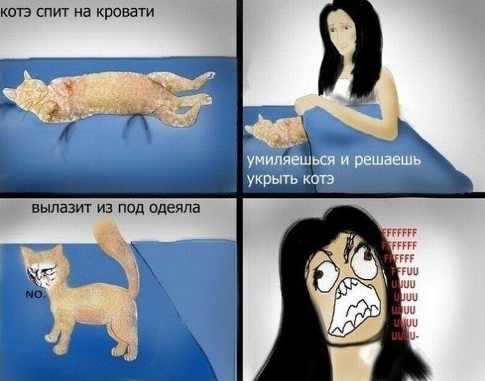 Смешные комиксы (17 картинок)