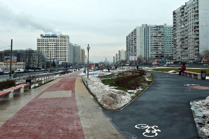 Новая плитка на улицах Москвы (12 фото)