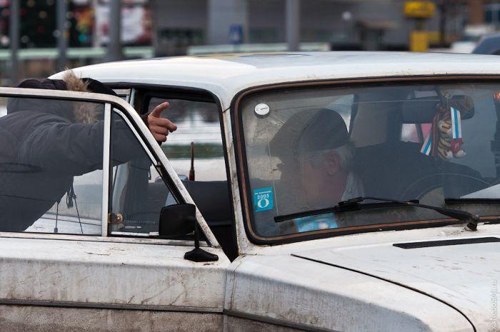 Один день таксиста (14 фото)
