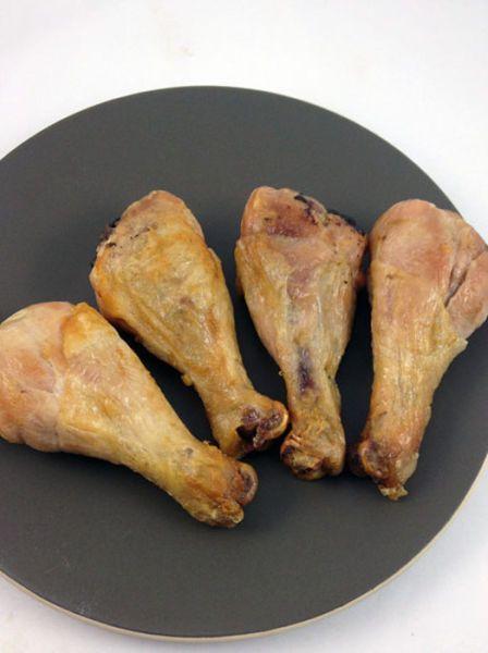 Курица и вафли (5 фото)