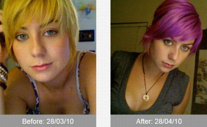 До и после трансформации (43 фото)