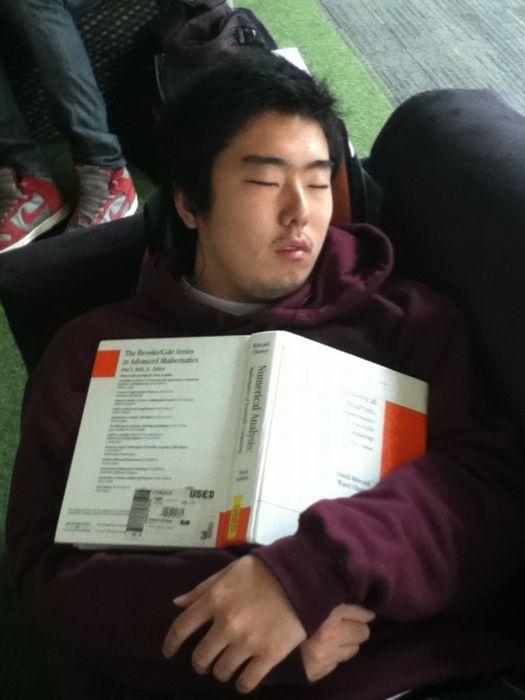 Спящие китайские студенты (74 фото)