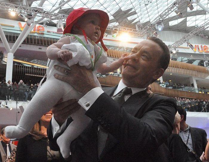Малыш и знаменитости (20 фото)