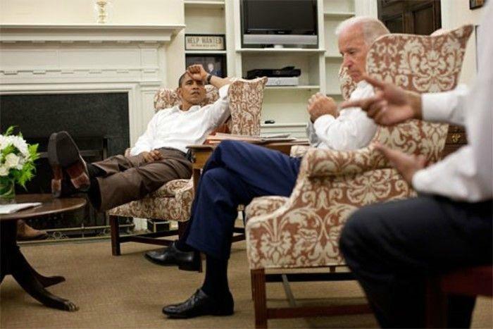 Президент США на работе (14 фото)