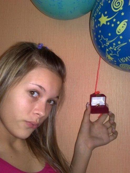 Русская школьница (30 фото)
