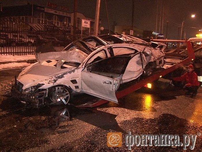 Авария в Питере (8 фото)