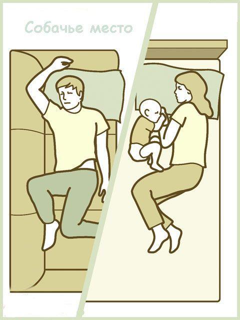 Как спят дети (8 картинок)