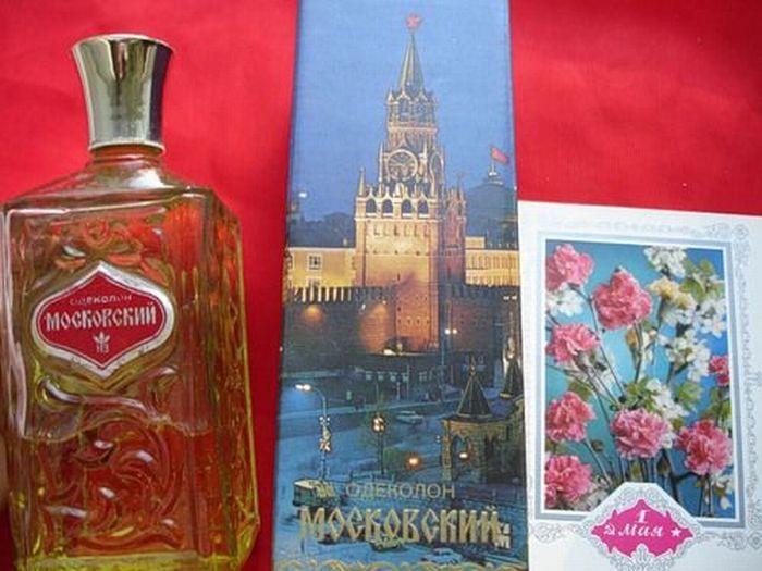 Парфюмерия времен СССР (26 фото)