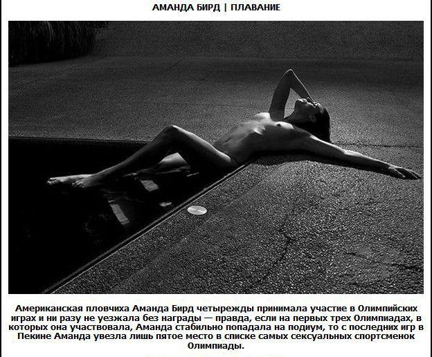 Самые сексуальные спортсменки (12 фото)