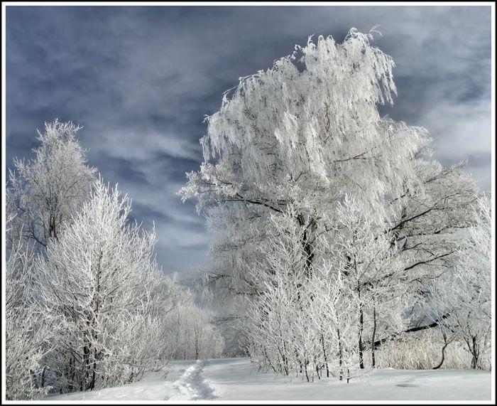 Шатура зимой.
