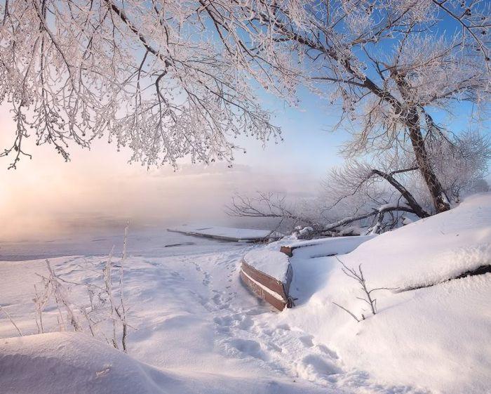 Зима вШатуре (33 фото)
