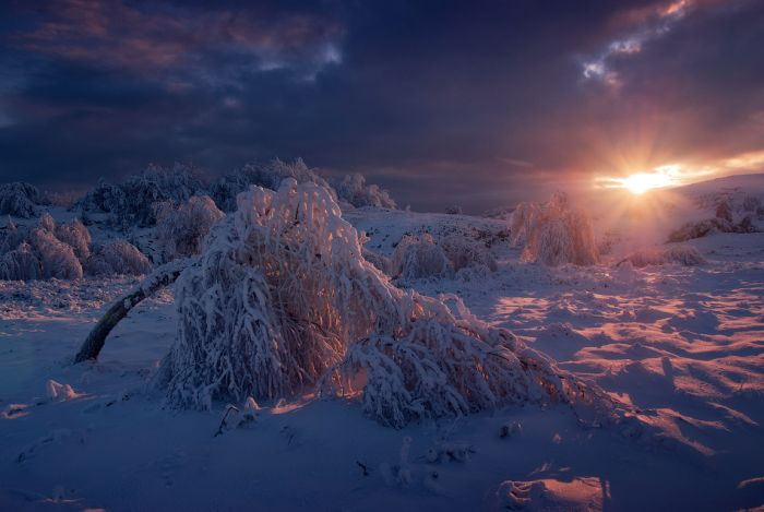 Зимний Крым (48 фото)