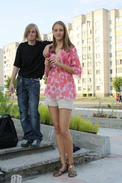 Самые высокие девушки в мире 50 фото