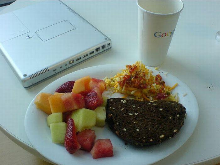 Чем питаются сотрудники Google (69 фото)