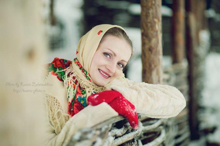 "Фотопроект ""Русская красавица"" (42 фото)"