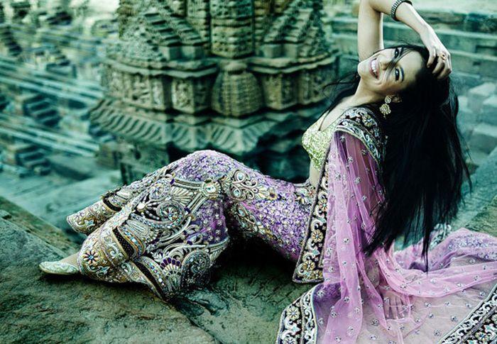 Девушки индии от Суреша Натараджана (44 фото)
