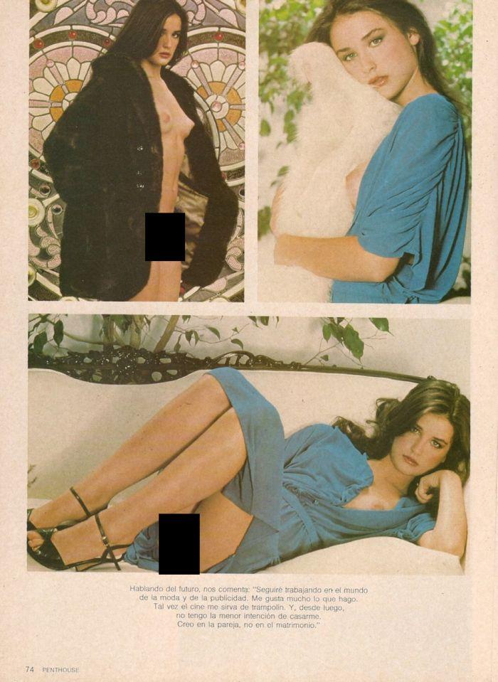 Эротическая фотосессия Деми Мур (4 фото)